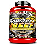 Amix Monster Beef Protein 2, 2 kg Vainilla - lima