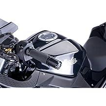 PUIG - 5618N/72 : Contrapesos terminales manillar aluminio largo 40mm