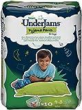 Pampers UnderJams Boys 10 Pyjama Pants - Size 7 (Small/Medium), Pack of 4