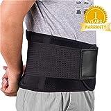Rückenbandage Rückengurt Lindert Schmerzen - Acdyion Rückenstützgürtel, Geradehalter Rückenlehne für gute Körperhaltung, Haltungskorrektur, Verletzungen zu vorbeugen, Rückenmuskulatur Schwarz(XL)