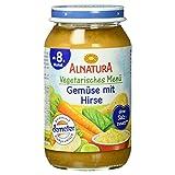 Alnatura Demeter Bio Gemüse mit Hirse, glutenfrei, 6er Pack (6 x 220 g)
