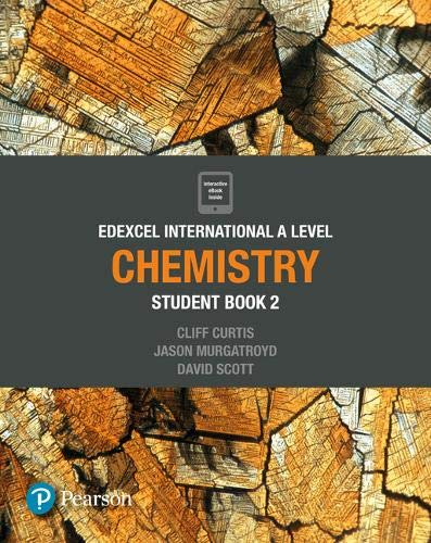 Pearson Edexcel International A Level Chemistry Student Book