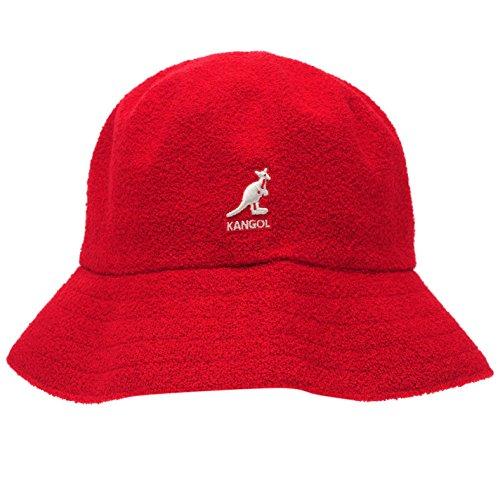 Imagen de kangol  gorro de pescador  para hombre rojo red1 s/m alternativa