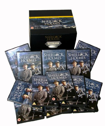 Sherlock Holmes: The Complete Collection [DVD] (Sherlock Holmes-box-set)