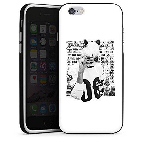 Apple iPhone 5 Hülle Premium Case Cover Cro Merchandise Fanartikel Polacroid Silikon Case schwarz / weiß