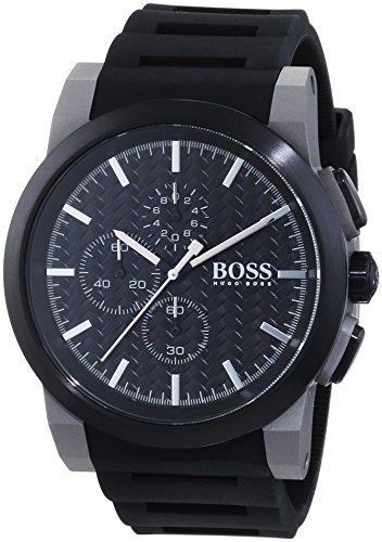 Hugo Boss Herren-Armbanduhr Chronograph Quarz Edelstahl beschichtet 1513089
