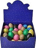 Steinbach Egg Shaker 45 Stück bunt sortiert inkl. ockerbraun und schwarz in Displaybox updn