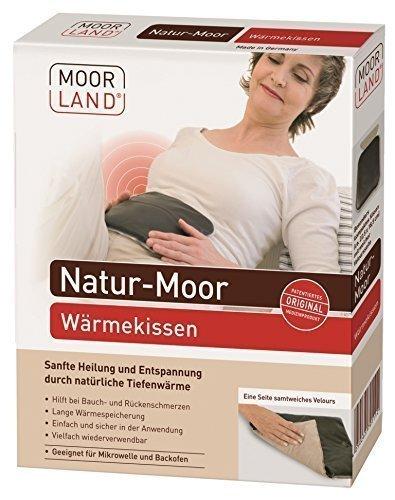 Moor-Wärmekissen Moorkissen Moor mit Velours von Moorland (ehem. BeinioTherm)