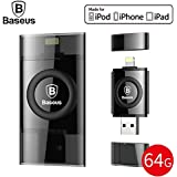[Original] Baseus [MFI Certified] 64GB USB Flash Drive For IPhone X IPhone 8 7 6 6s Plus 5 5s Se IPad Pen Drive For Lightning U Disk HD Memory Stick OTG Pendrive