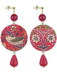 Lebole Gioielli Orecchini Collezione The Circle - 151 Rosso