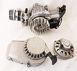 Motore monocilindrico per Minimoto/Mini Quad, completo, 49cc, a 2tempi