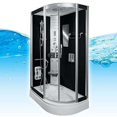 AcquaVapore DTP8060-7302R Dusche Dampfdusche Duschtempel Duschkabine 80x120, EasyClean Versiegelung der Scheiben:2K Scheiben Versiegelung +89.-EUR - 2