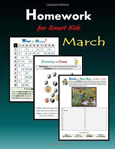 Homework for Smart Kids - March