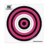 DMAR Bogenschießen Ziel Gesicht 40x 40cm Bull photographiert Bogenschießen und Gun Target Face Papier Shooting Target Set 30PCS, D