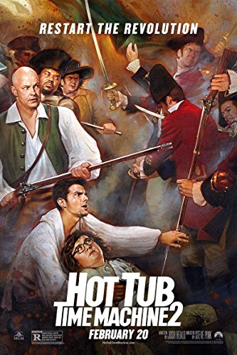 Hot Tub Time Machine 2 Movie Poster 70 X 45 cm Hot Tub Time Machine-poster