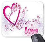 Ideen für Freund-Valentinstag-Karte Mauspad 7 x 8,66 Zoll