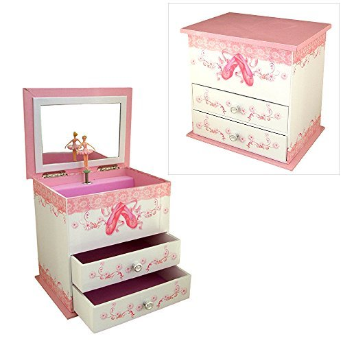 Girls-Musical-Jewellery-Box-with-Ballet-Shoes-Design-by-Mele-Co-by-Mele-Co