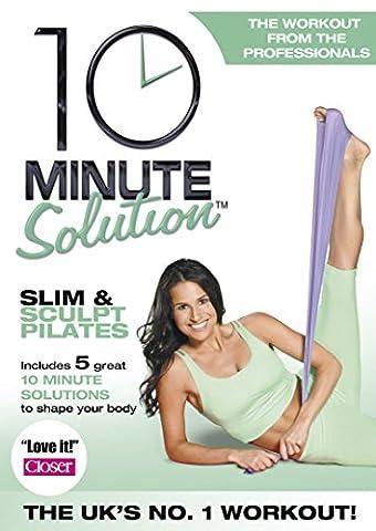 10 Min Solution Slim&Sculpt Pilates [Edizione: Regno Unito] [Import