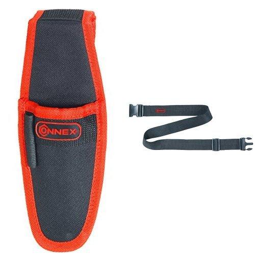 Connex Werkzeug-/Messerhalter, 1-Fach, COX952076 + Connex Werkzeuggürtel verstellbar Nylon,...