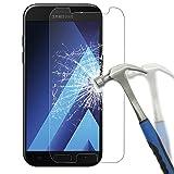 Panzerglas für Samsung Galaxy A5 2017, [2 Stück] Goodshop Schutzfolie für A5 2017 9H Härtegrad Displayschutz 0.26mm