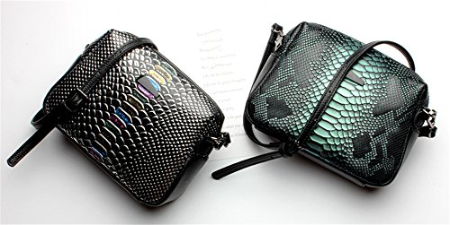 Xinmaoyuan Borse donna borsette in cuoio piccola borsa rivetti Wild Messenger Borsa a tracolla,grigio Colore caramello