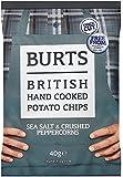 Burts Potato Chips Salt and Black Pepper 40 g (Pack of 20)