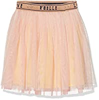 Scotch R'Belle Girl's Layered Tule Skirt, Rosa (Nougat 109), 10 Years