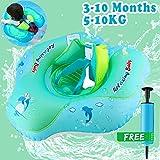 GBD Bebé Natación Niños inflables Natación Anillo Flotador Cintura Flotadores inflables Juguetes de Piscina Playa Interior Aire Libre Verano Baño de Agua Juguetes para niños pequeños Edad 3-10 Meses