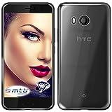 mtb more energy® Schutz-Hülle Clear & Slim für HTC U11 (5.5'') | transparent | flexibel | TPU Case Schutz Hülle Tasche