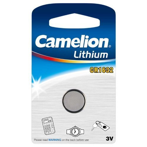 Camelion CR1632 3V 120mAh Lithium Button Cell 1pk FAST USA SHIP by Camelion