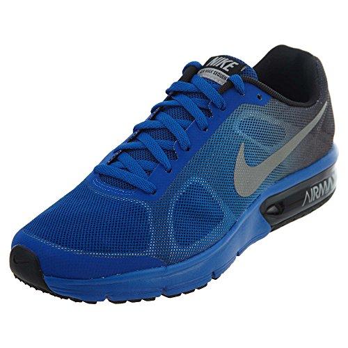 Nike Jungen Max Sequent (gs) Laufschuhe, Mehrfarbig (Black/Reflect Silver-Game Royal 003), 36 EU -
