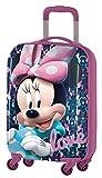 Disney Minnie D97695 Valigia Per Bambini, Trolley Da Cabina, 55 Centimetri, 33 Litri, Multicolore