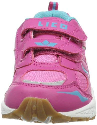 Lico Bob V 360370 Mädchen Hallenschuhe Pink (pink/türkis)