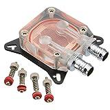 KUNSE Gpu Wasserkühlung Block Pc Kupfer High Performance Liquid Kühler AMD Nvidia W40