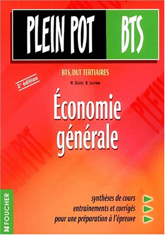 Économie générale : BTS, DUT tertiaires, 2e édition
