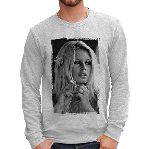 Felpa girocollo BRIGITTE BARDOT - FAMOSI by MUSH Dress Your Style - Uomo-XXL-GRIGIO SPORT