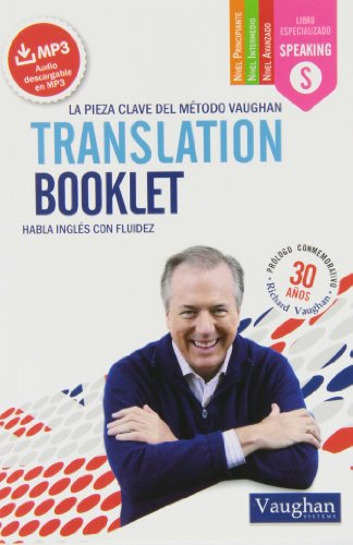 Translation Booklet: Habla inglés con fluidez por Richard Vaughan
