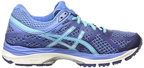 Asics Gel-Cumulus 17, Chaussures de Running Compétition Femme Bleu (Deep Cobalt/Turquoise/Dutch Blue 5040)