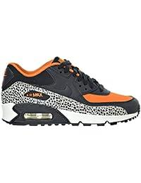 the best attitude 34a11 ab84c Nike Air Max 90 Safari (GS) Big Kid s Shoes Summit White Black