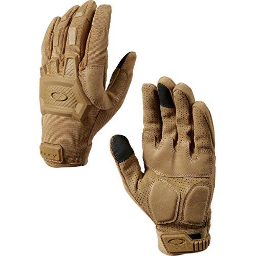 Oakley Flexion Mens Snow Snowmobile Gloves - Coyote / X-Large (Glove Oakley Snow)