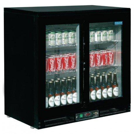 Enfriador expositor de bar 168 botellas Polar