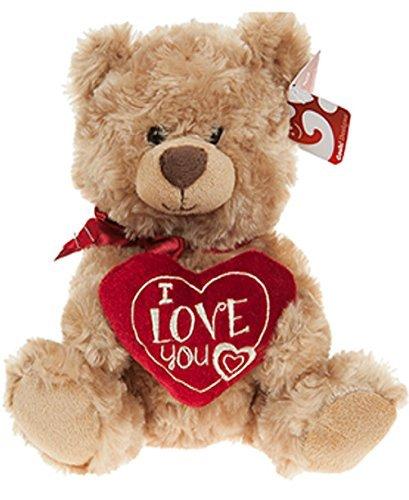 Orso Raffaello con cuore ricamato I LOVE YOU 445016