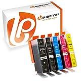 5 Druckerpatronen kompatibel für HP 364 XL 364XL Set mit Chip und Füllstand