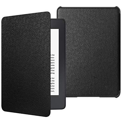 JETech Funda Kindle Paperwhite (10.ª generación, la Versión del 2018) con Auto-Sueño/Estela, Negro