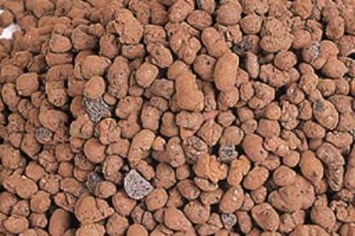 Blähton 10 Liter nierenförmig, rot/braun Ø 8-16 mm, Pflanzensubstrat von Luwasa - Du und dein Garten