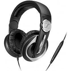 [Cable] Sennheiser HD 335S - Auriculares de diadema cerrados (con micrófono, control remoto integrado), negro