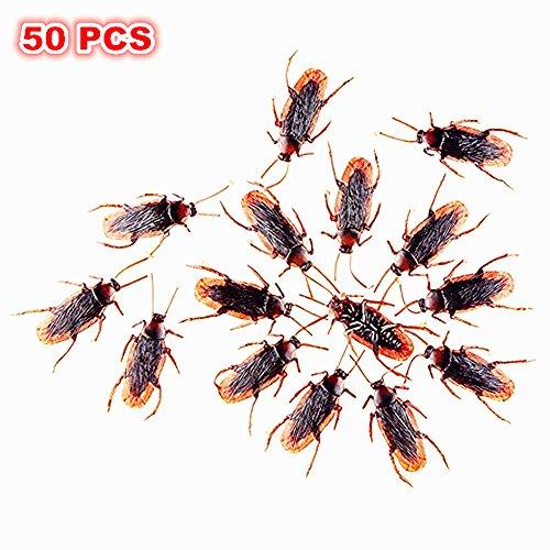 Vi.yo Faux blattes Prank Rechercher Nouveauté Cockroach réel