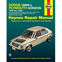 Haynes Dodge Omni and Plymouth Horizon, 1978-1990 (Haynes Owners Workshop Manuals)