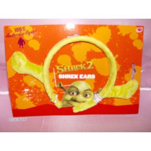 Oger Shrek Kostüm - Plush Shrek Ears Fancy Dress