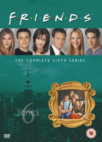 Click for larger image of Friends: Complete Season 6 - New Edition [DVD] [1995]
